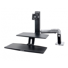 *New* Ergotron WorkFit-A Desktop Height Adjustable Workstation Suspended Keyboard Tray