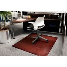 *New* Anji Mountain Bamboo 12mm Chairmat Available in Dark Cherry And Natural