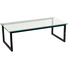 BTOD Glass Top Reception Coffee Table