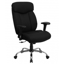 "*New* BTOD Big And Tall Fabric Office Chair 22"" Wide Seat Rated For 350 lbs."