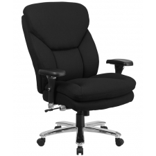 Modern Big Mans 24/7 Office Chair Chrome