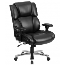 Big Man's Leather Office Chair 24/7