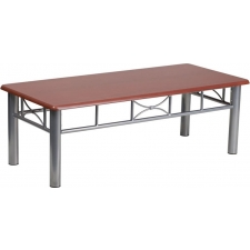 BTOD Laminate Reception Coffee Table Available In Mahogany or Natural