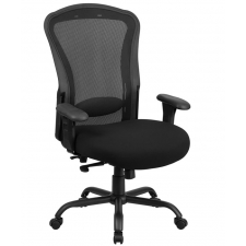 "BTOD Intensive Use 24/7 Big And Tall Mesh Back Office Chair 24"" Seat Rated For 400 lbs."