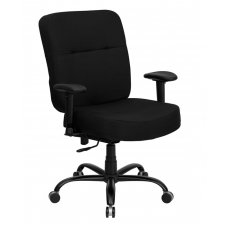 "*New* BTOD Big And Tall Fabric Office Chair 22"" Seat Width Rated For 400 lbs."