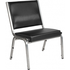 1500 lbs. Capacity Bariatric Reception Chair Antimicrobial