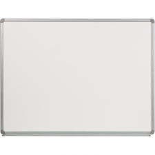 Porcelain Grey Finish Magnetic Marker Board Steel Frame