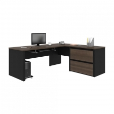 Bestar Connexion L Shaped Computer Desk 2 Color Options