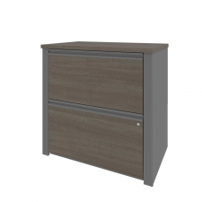 Bestar 2 Drawer Lateral File for Prestige+ Collection 3 Finish Options
