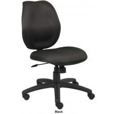 Boss Mid Back Task Computer Chair No Arms