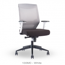 BTOD 100MC Deluxe Mesh Back Office Chair Available in Black or White