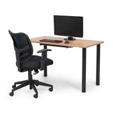 BTOD WFH Combo - Work From Home Desk/Chair/Drawer