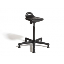 "Cramer Rhino Sit/Stand Drafting Stool w/5 Star Base - Seat Adjustment 22""-32"""