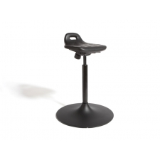 "Cramer Rhino Sit/Stand Drafting Stool w/Trumpet Base - Seat Adjustment 24""-31"""