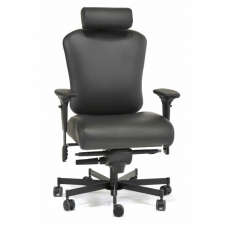 Concept Seating 3150HR Operator 24/7 Chair 550 lbs Rating  *Black Fabric, Vinyl or Leather Ships in 5-7 Days*
