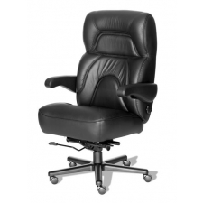 "ERA Chairman Extra Large Big and Tall Desk Chair 500 lbs Rating 26"" Wide Seat"