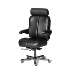 "ERA Marathon Executive Big and Tall Office Chair 400 lbs Rating w/ 22"" Wide Seat"
