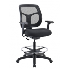 "Eurotech Apollo Drafting Chair w/ Seat Height Range 23.5""-32.5"""