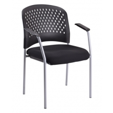 *New* Eurotech Breeze Guest Chair w/ Perforated Plastic Back