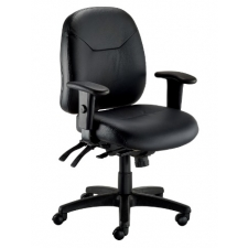*New* Eurotech 4X4LE Ergonomic Leather Task Chair