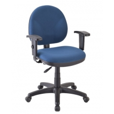 *New* Eurotech OSS Fabric Computer Chair w/ No Arms