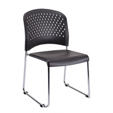 Eurotech S3000 Armless Stack Chair With Sled Base *Price Includes 4-Pack Of Chairs*