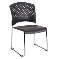 Eurotech S4000 Stacking Chair with No Arms *Price Includes 4-Pack Of Chairs*