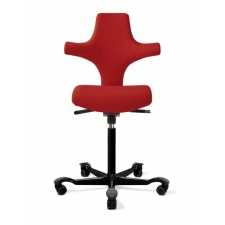 HAG Capisco 8126 Flat Seat Sonography Chair w/ Back Support