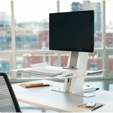Humanscale QuickStand Single Standing Desk Converter