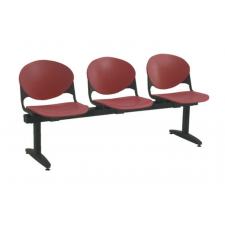 KFI 2000 3 Chair Beam Seating System - 400lbs Rating