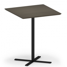 "Lesro Avon Series 36"" Square Dining Height Café Table"