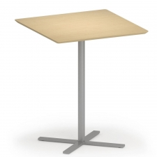 "Lesro Avon Series 36"" Square Bar Height Café Table"