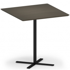 "Lesro Avon Series 42"" Square Dining Height Café Table"