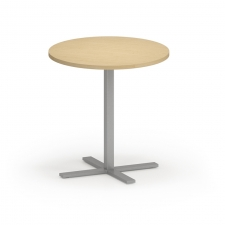 "Lesro Avon Series 30"" Round Dining Height Café Table"
