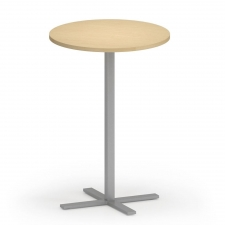 "Lesro Avon Series 30"" Round Bar Height Caf?? Table"