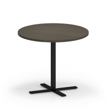 "Lesro Avon Series 36"" Round Dining Height Café Table"