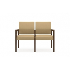 Lesro Brooklyn Series 2 Seat Sofa No Center Arms