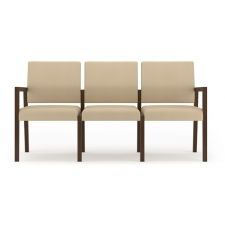 Lesro Brooklyn Series 3 Seat Sofa No Center Arms