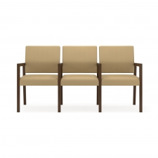 Lesro Brooklyn Series Three Seats w/ Center Arms