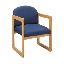 Lesro Classic Round Back Series Reception Chair