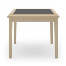 Lesro Savoy Series Corner Table w/ Laminate Insert