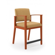 Lesro Amherst Series Guest Hip Chair 275 lb. Rating