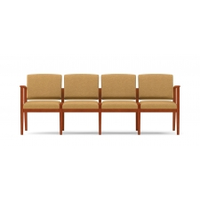 Lesro Amherst Series 4 Seat Reception Sofa Without Center Arms