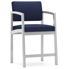 Lesro Lenox Steel Series Armless Hip Chair