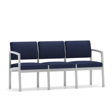 Lesro Lenox Steel Series 3 Seat Sofa - No Center Arms