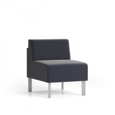 Lesro Luxe Guest Chair Armless