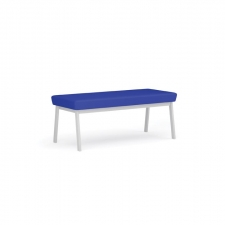 Lesro Newport Series 2 Seat Bench Five Frame Color Options