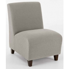 Lesro Siena Series Armless Reception/ Guest Chair