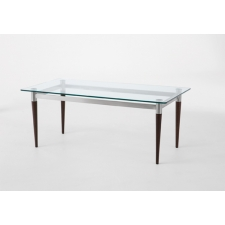 Lesro Siena Series Glass Top Coffee Table