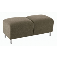 Lesro Ravenna Series 2 Seat Bench w/ Steel or Wood Legs